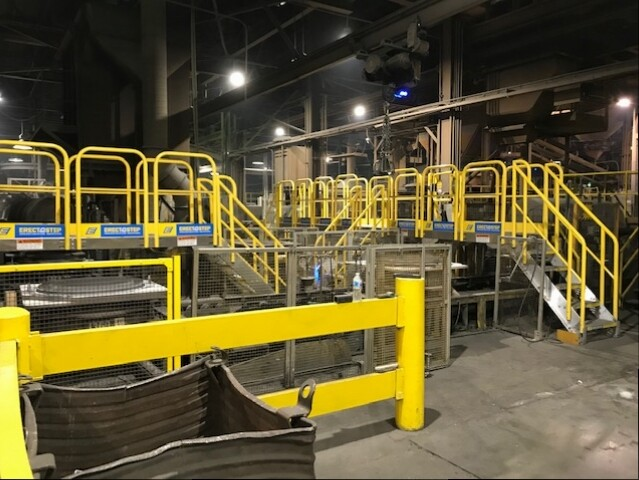 ErectaStep Conveyor Crossover for Amsted Rail Kansas City
