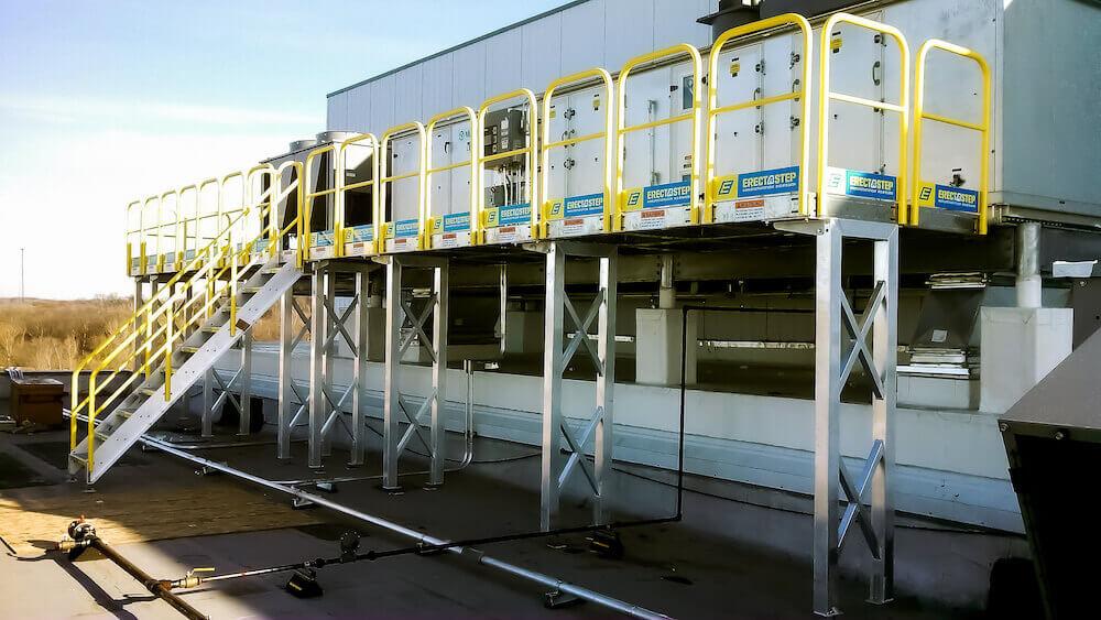 Elevated Maintenance Work Platforms