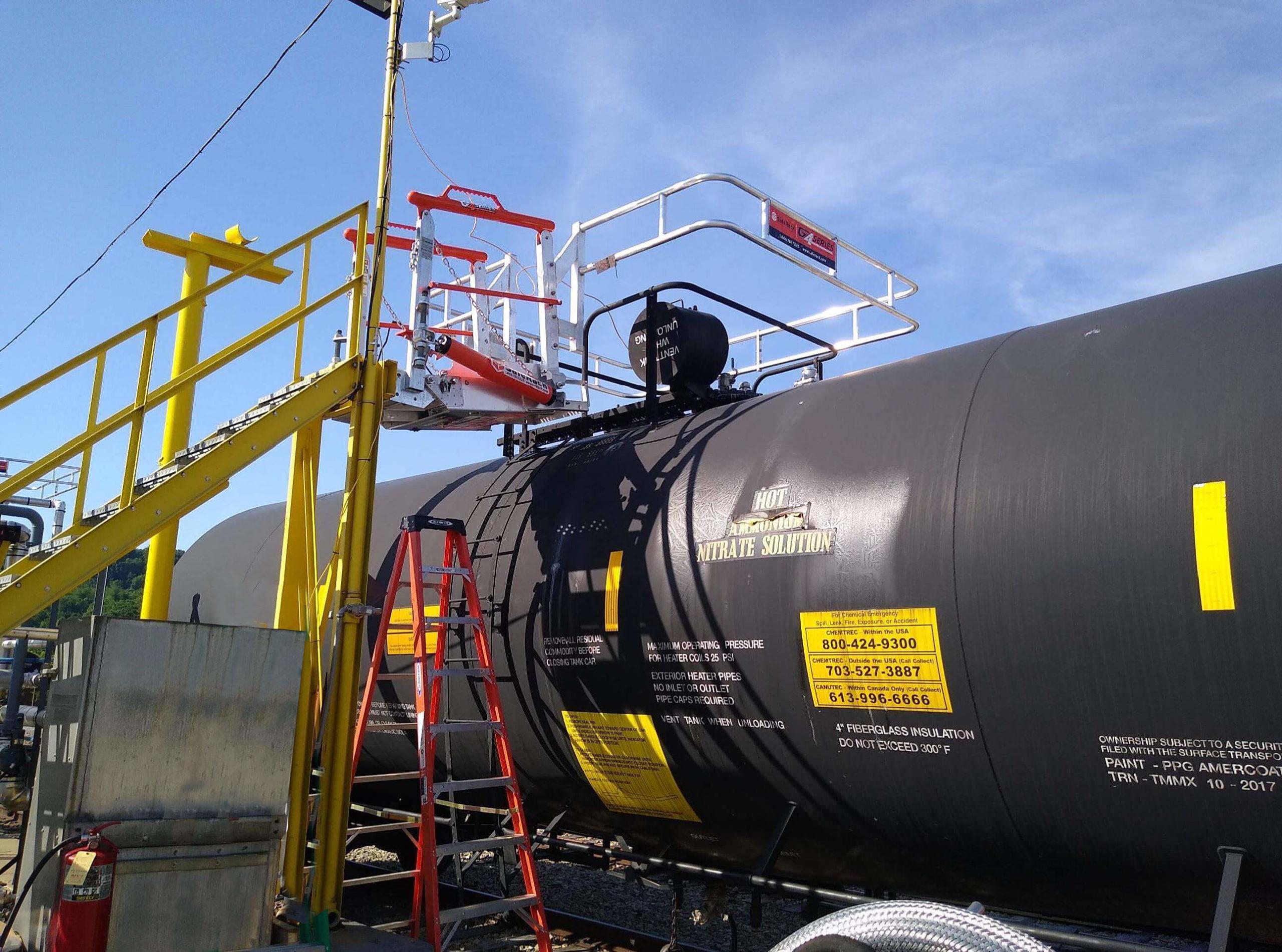 Ammonium Nitrate Chemical Loading