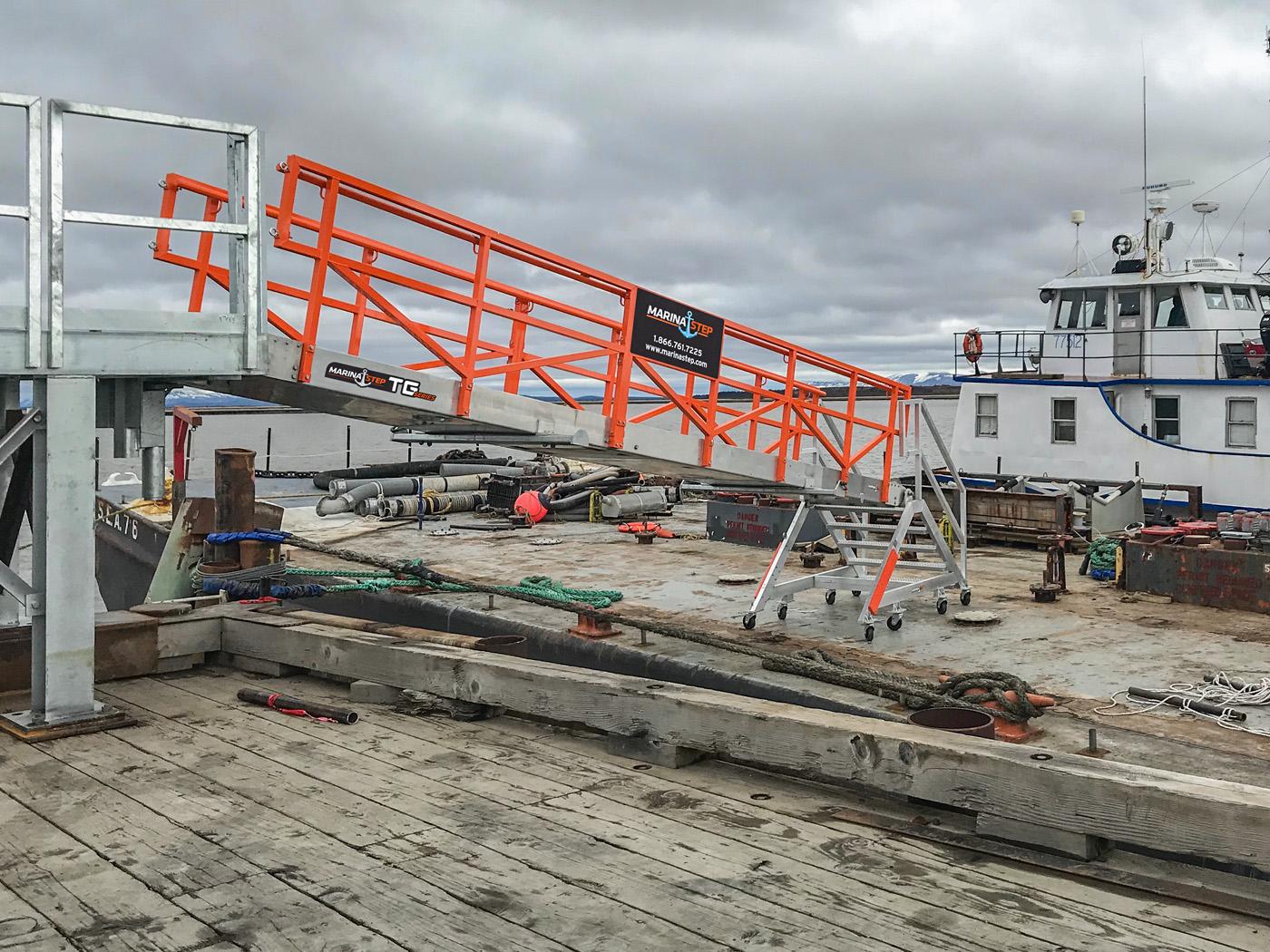 Custom Alaska MarinaStep