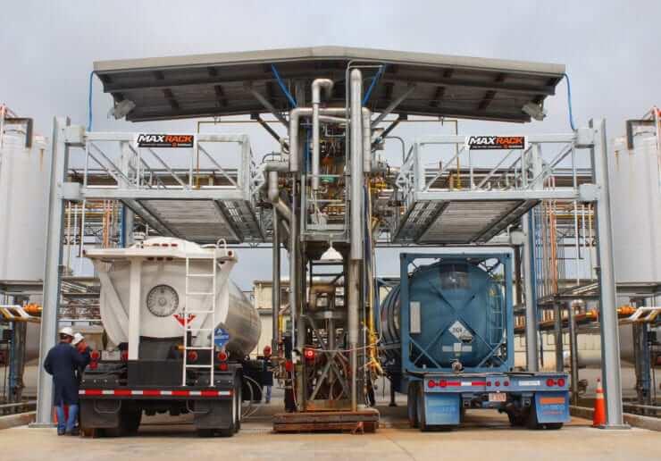 Elevating Loading Platform For Trucks