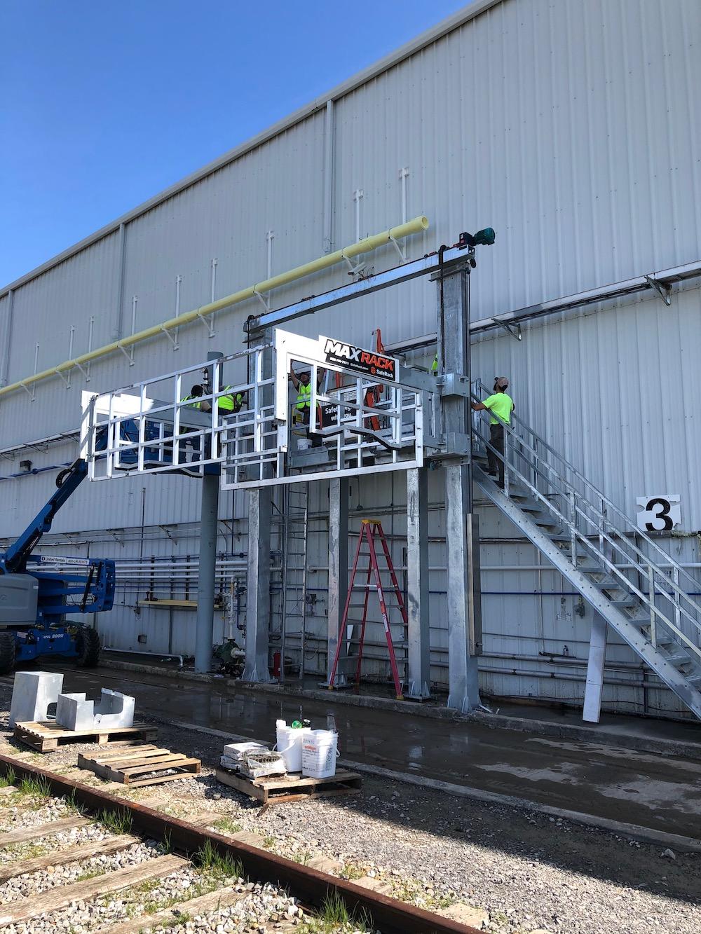 MaxRack Installation for Bulk Chemical Loading