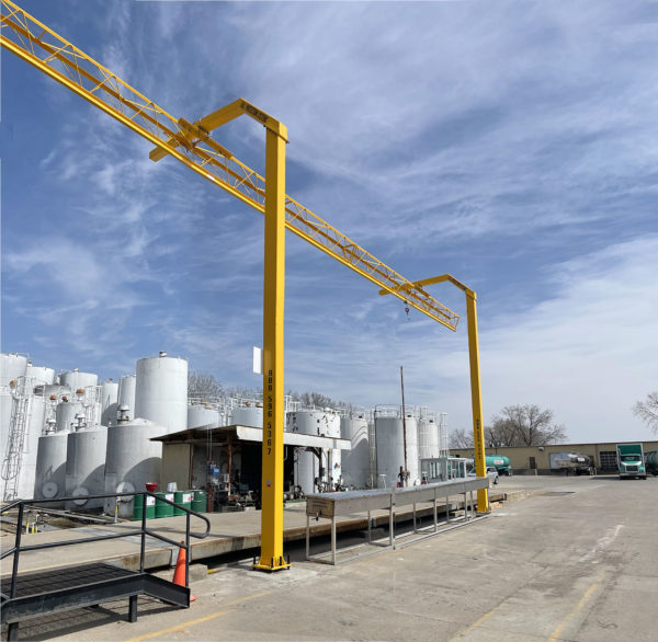 Overhead Rigid Rail Fall Protection