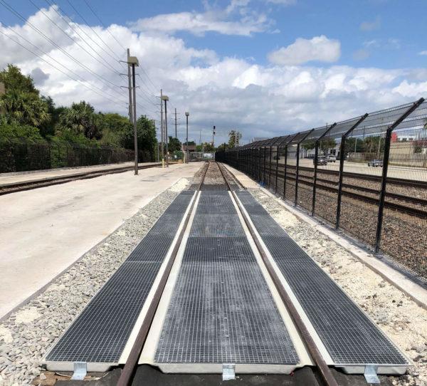 Railcar Trackpan installation for Transdev Rail
