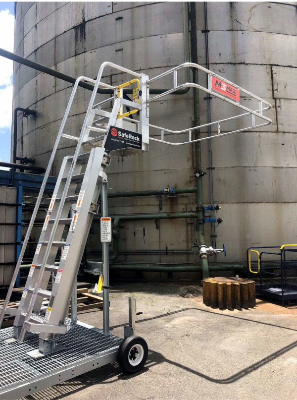 Railcar Mobile Stairs