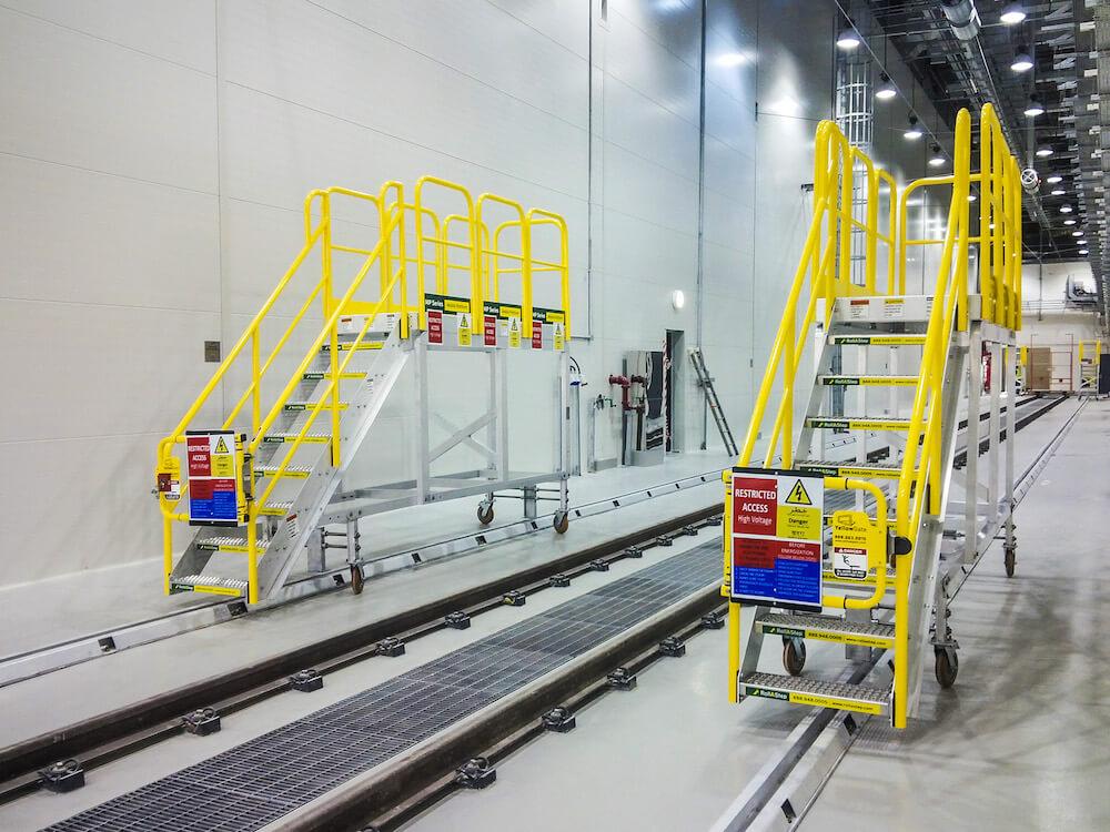 Rollastep MP Mobile Platform For Dubai Tram Project