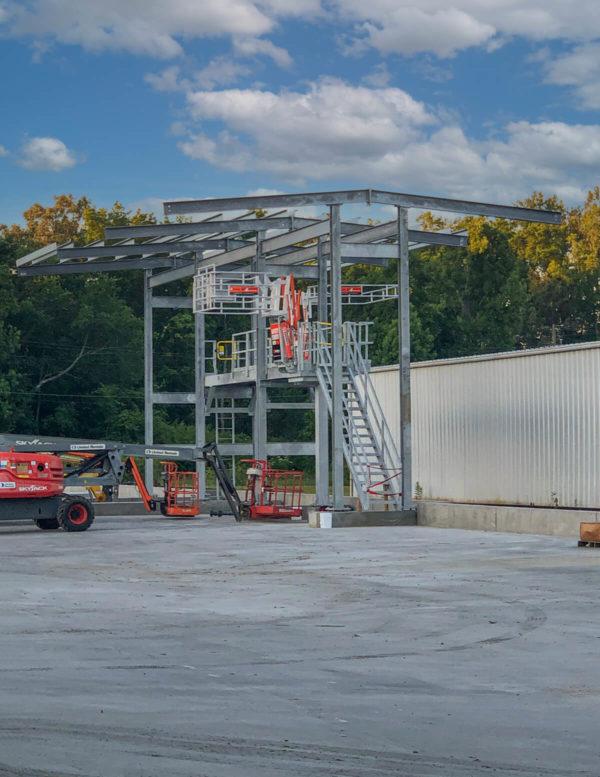 Gangway Truck Loading Platform