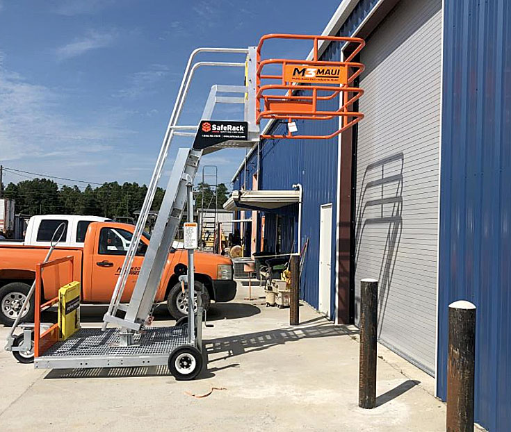 SafeRack Truck Mobile Access Unit