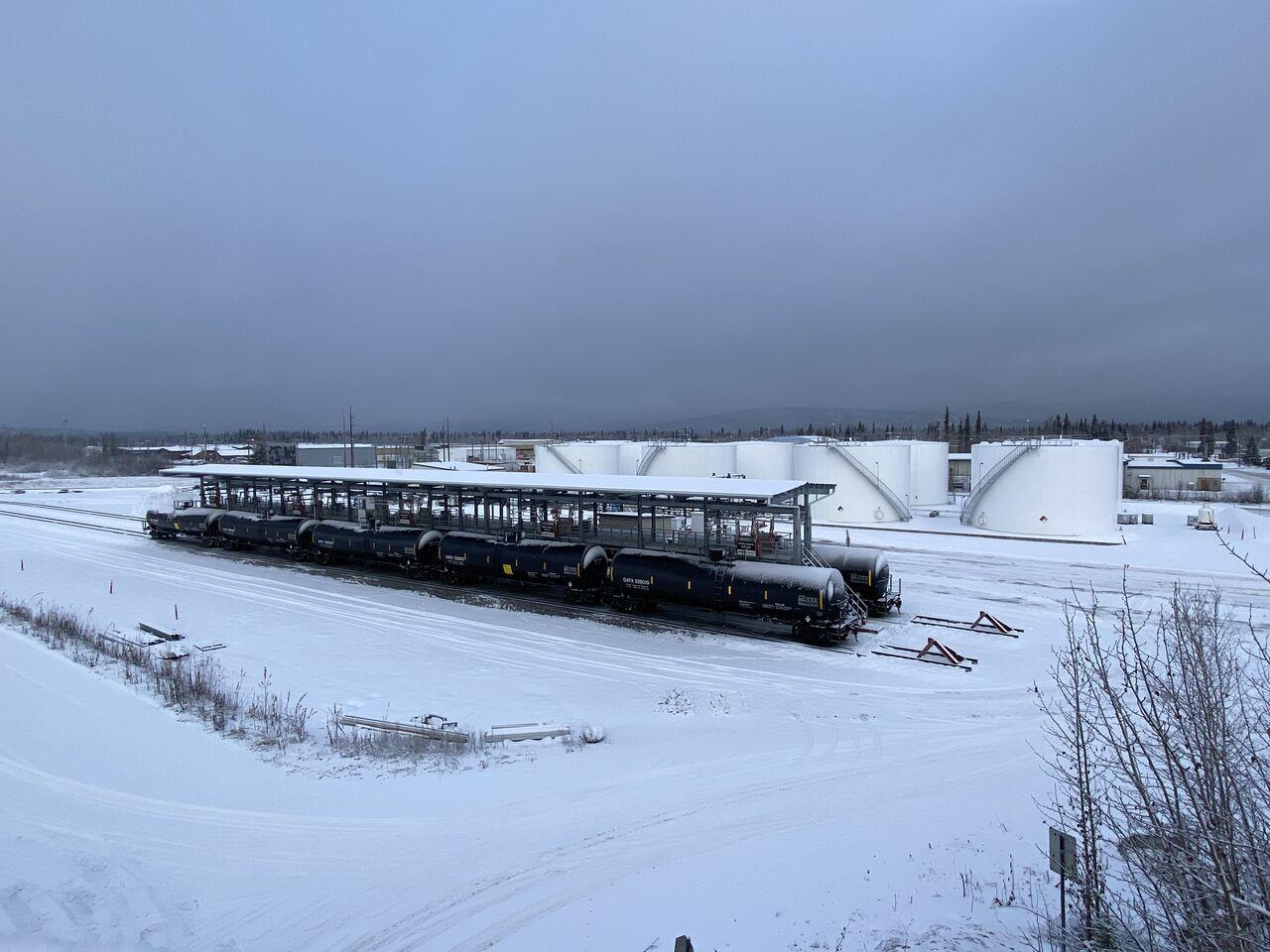 SafeRack Terminal installation in Fairbanks