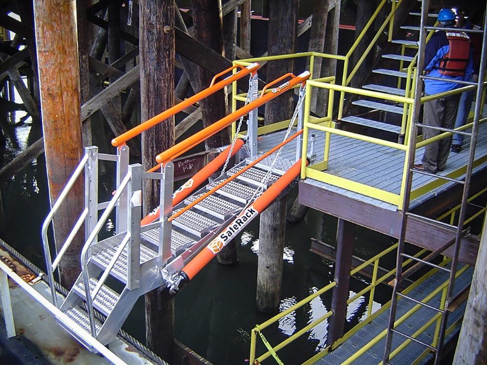 SafeRack Marine Gangway With Handrails