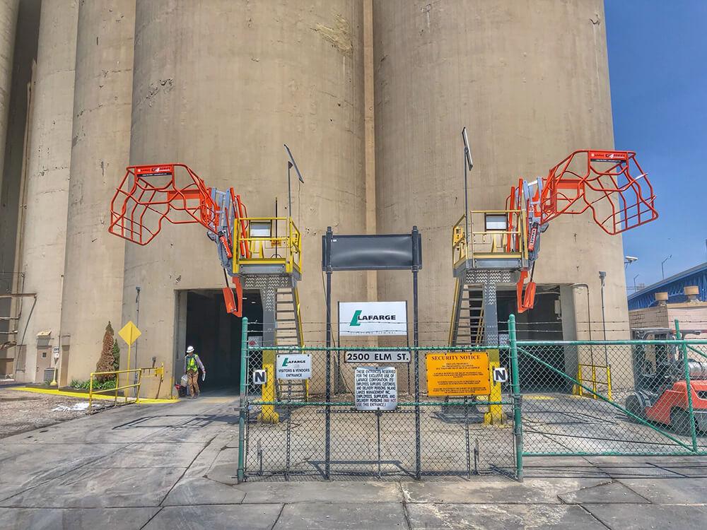 Truck Loading Pedestal Platforms