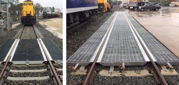 Railcar Spill Track Pan