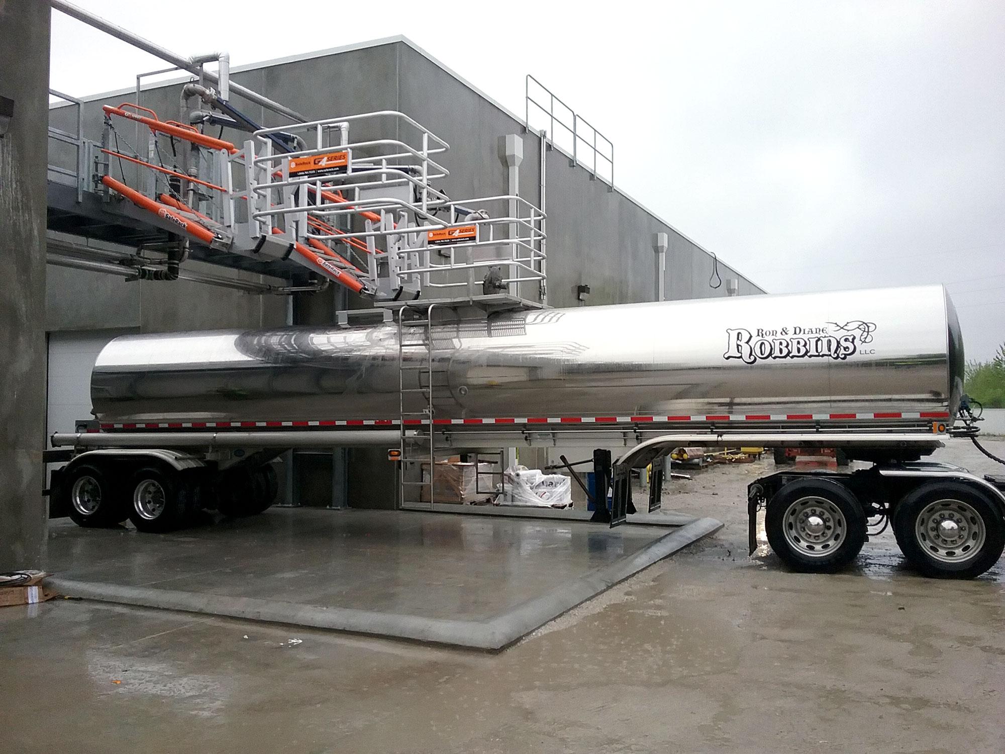 Tank truck loading racks Tyson Facility