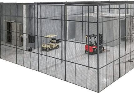 DEA Drug Storage Cages