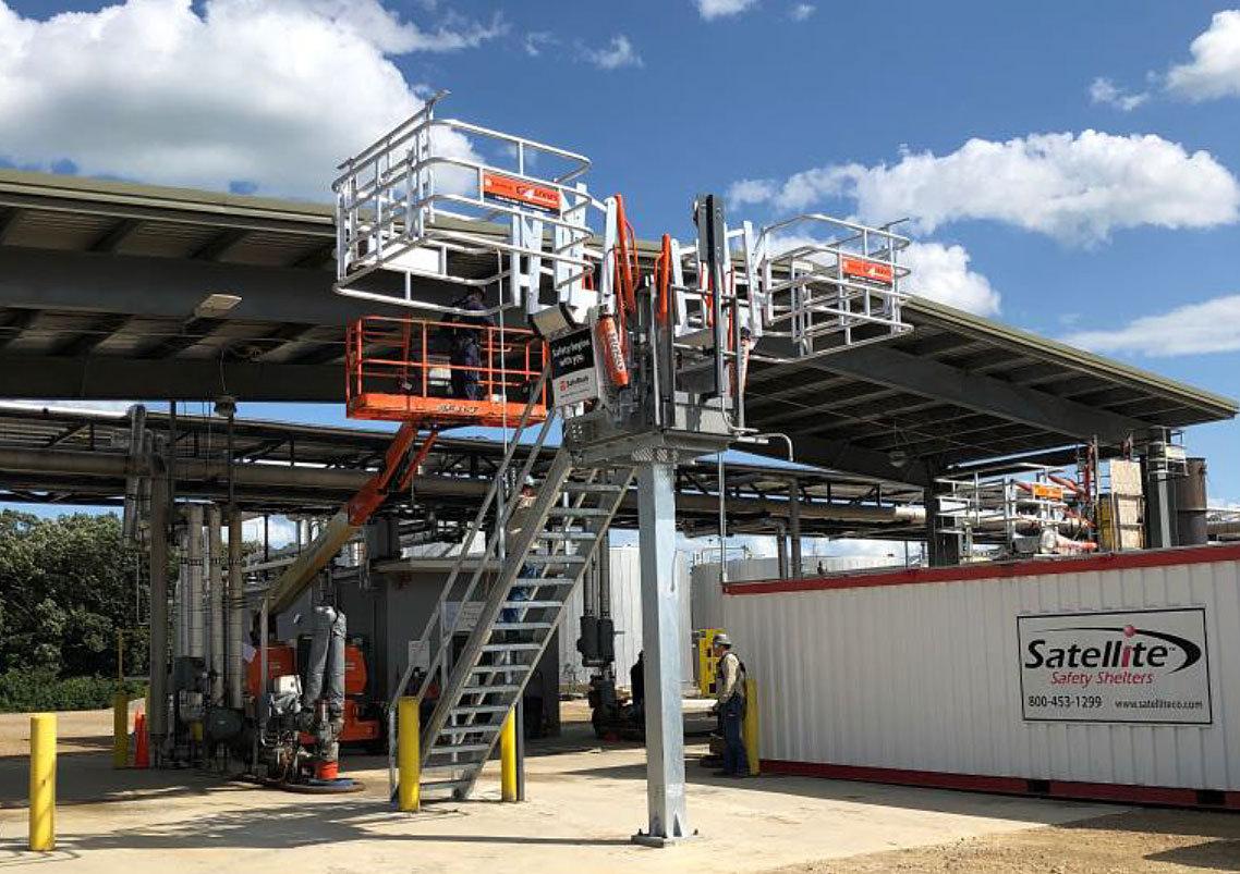Biodiesel Liquid Transfer Terminal for Truck Loading