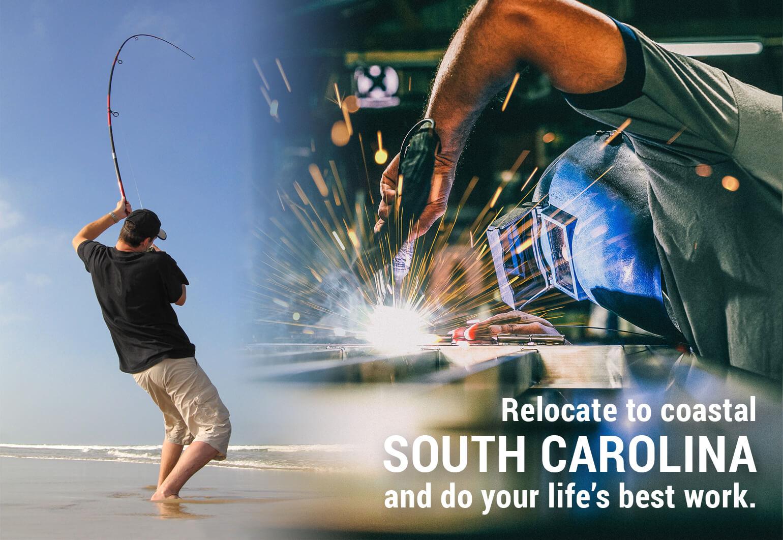 Reloated to Coastal South Carolina
