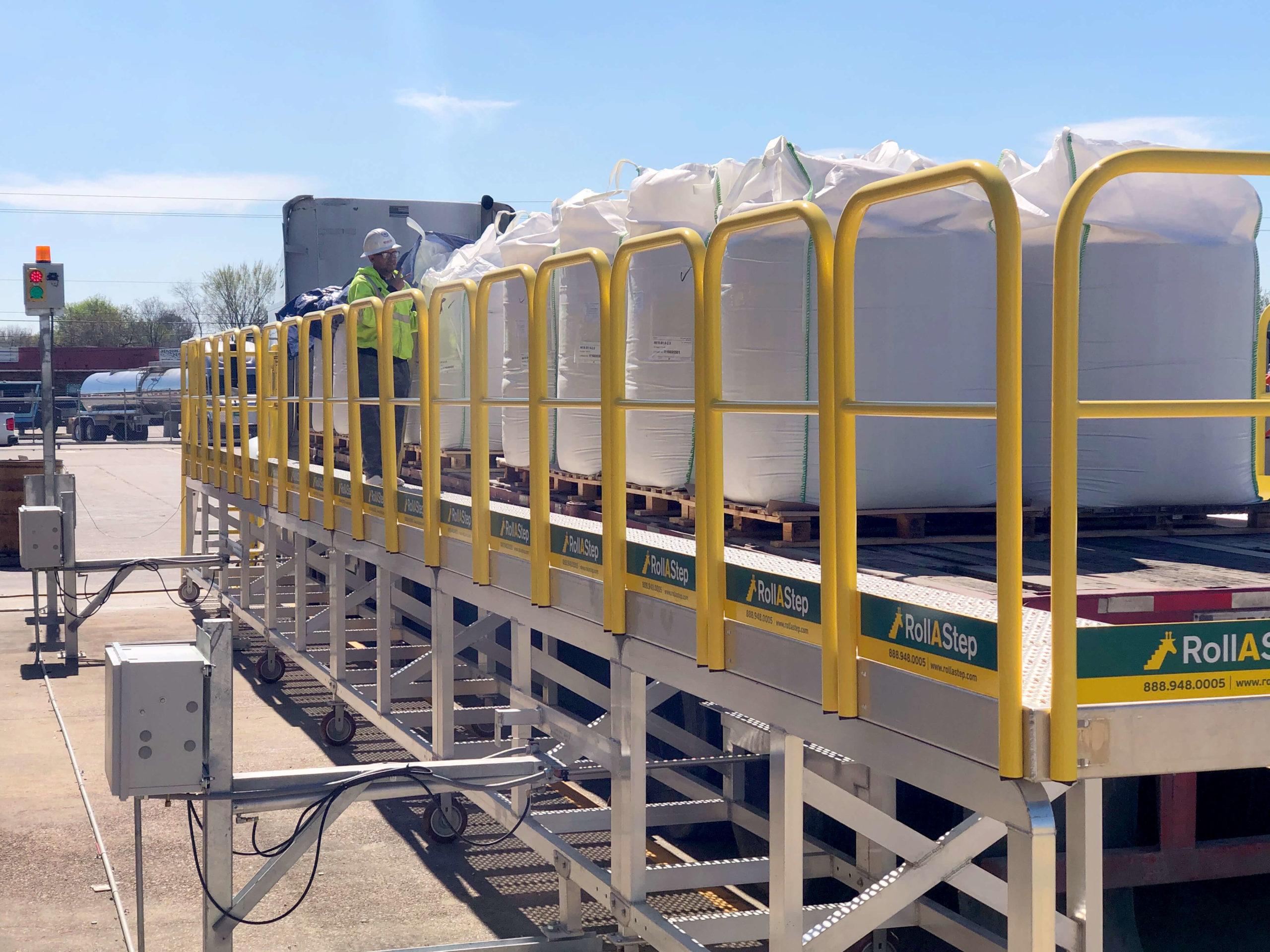 HydraulicFlatbed Truck Platform