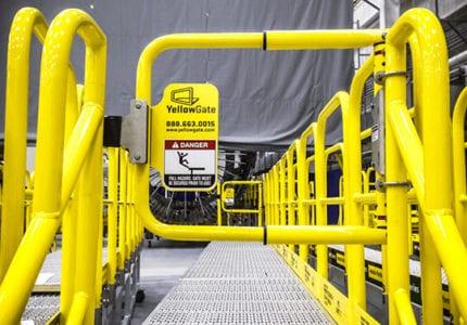 Swing Gates - Industrial Safety Gates