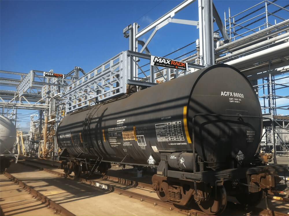 Chlorine Loading Unloading Saferack