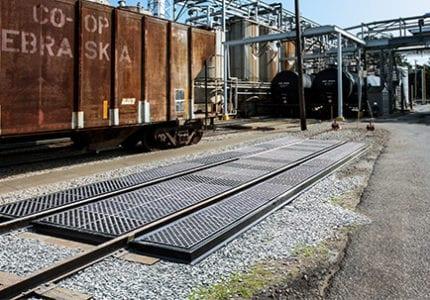 Polyethylene & Composite Railcar Track Pans