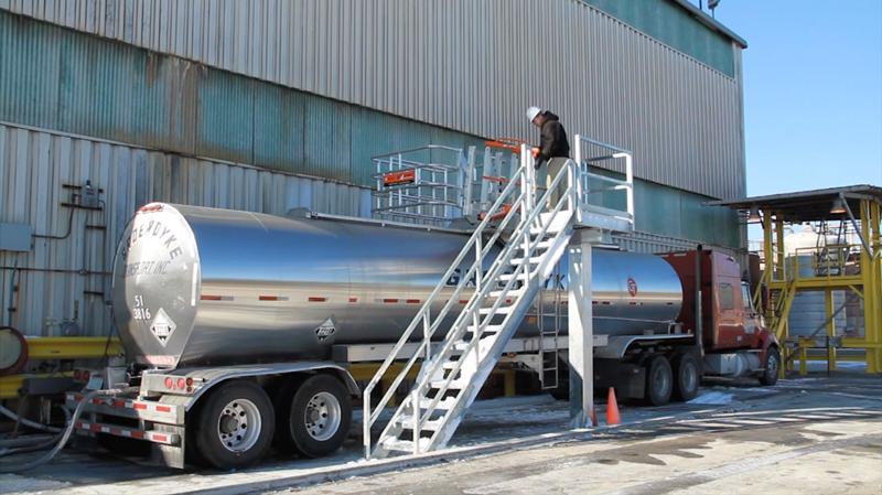 truck saferack system nalco chooses saferack truck loading racks