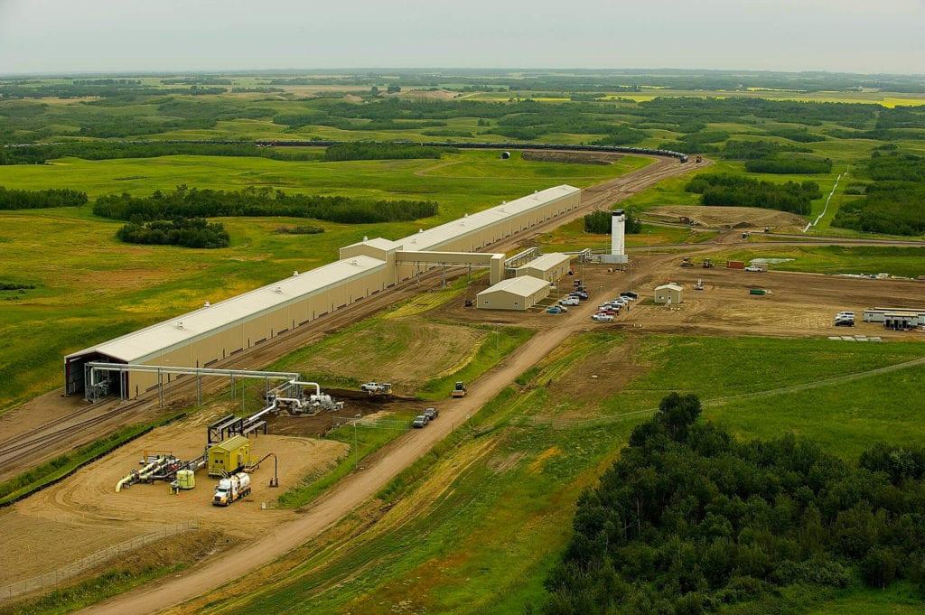 USD Crude Oil loading platform construction
