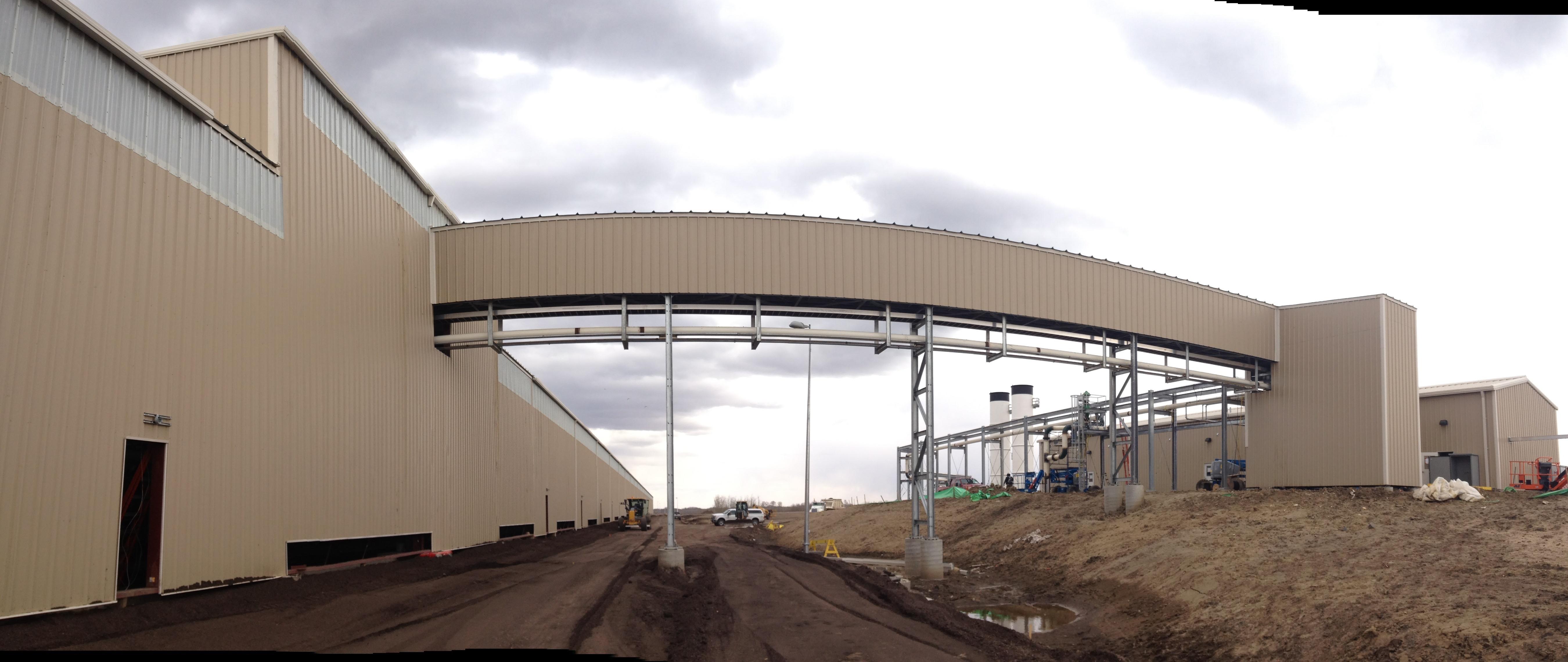 Petroleum Crude Oil Loading Facility Construction Hardisty Alb