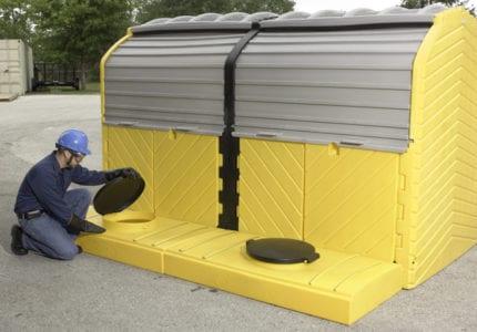 IBC Modular Hard Top Spill Pallets
