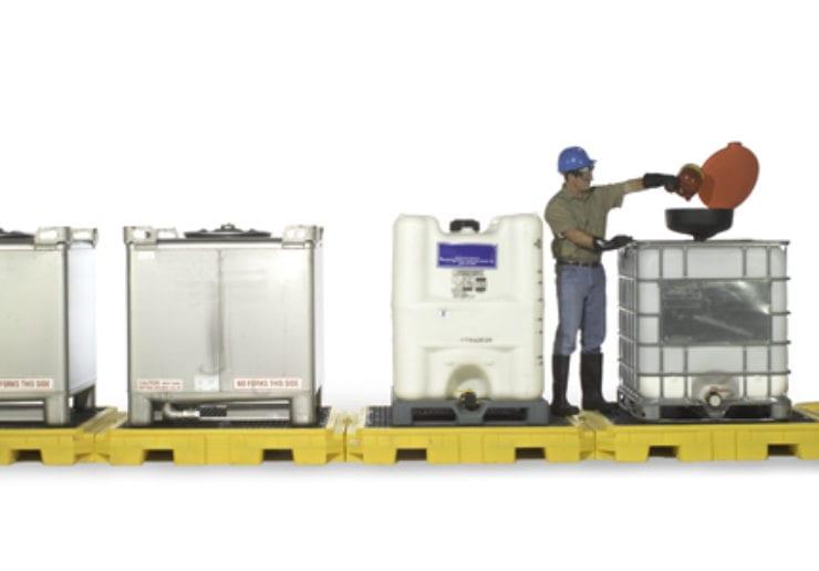 Modular IBC Spill Pallets - SafeRack