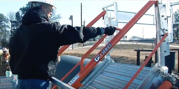 Part1 Search For The Perfect Gangway SafeRack G4 Safety Gangways YouTube