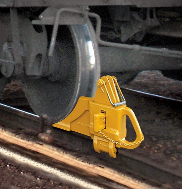 Rail Clamping Wheel Block