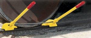 Transit Car Urethane Wheel Chock