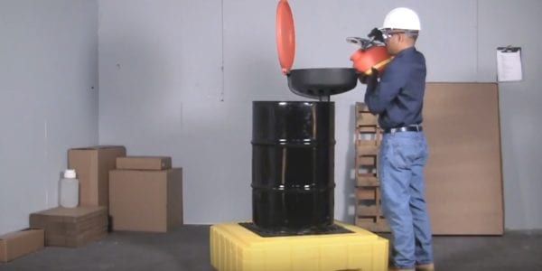 Ultra Spill Pallet P1 Plus containment system