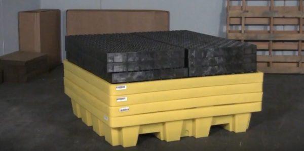 Ultra Spill Pallet P4 Nestable Model