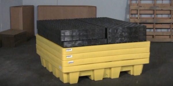 Ultra Spill Pallet P4 Nestable Model