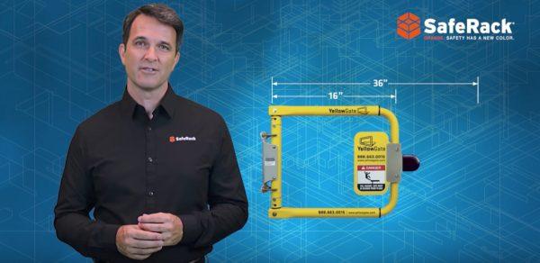 YellowGate Adjustable Safety Swing Gates