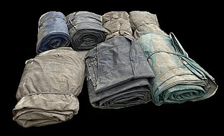 Flatbed tarp types