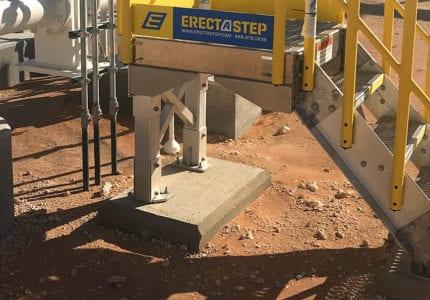 Concrete Form Kit and Precast Pads