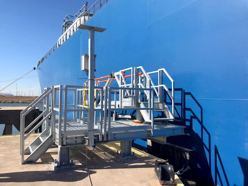 BASF Tanker Gangway