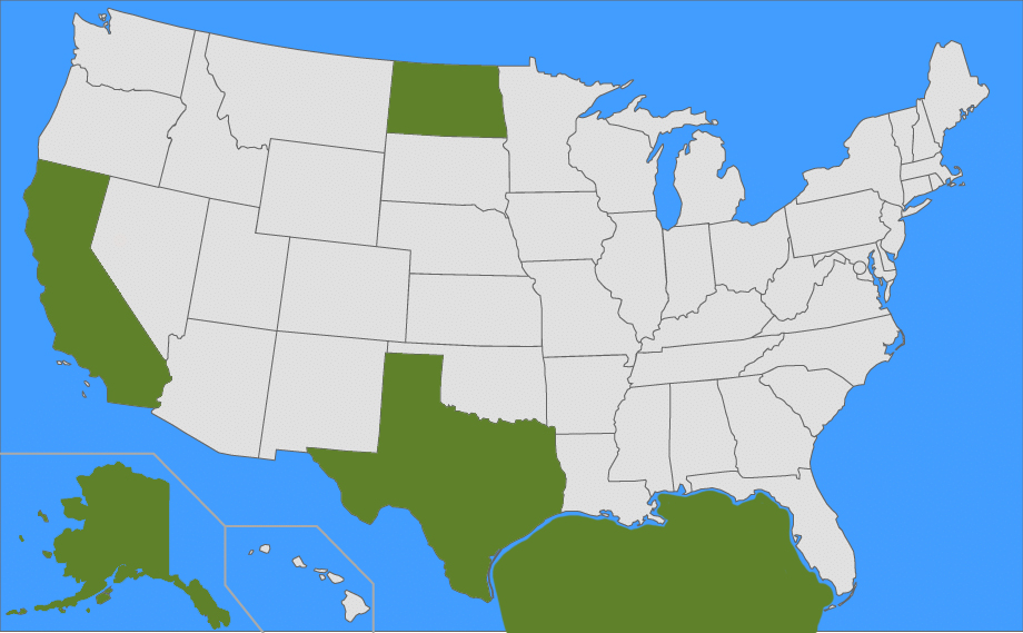 Top 5 Oil Regions In The United States Saferack - Map-of-the-5-us-regions