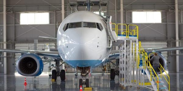 AeroStep's MP-Series - Ground Support Rolling Maintenance Platform
