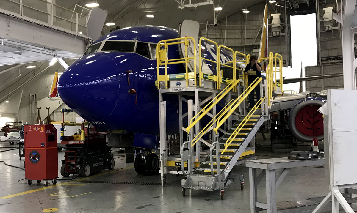 Aviation Access Stairs