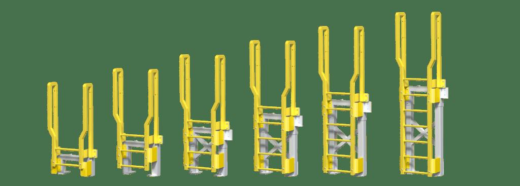 ErectaStep Fixed Ladders 1-6 rung