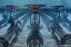 underwater shutoff valves