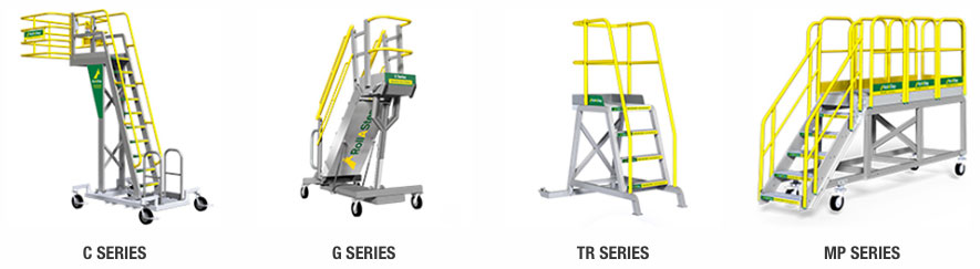 RollaStep Product Line - Rolling Stairs