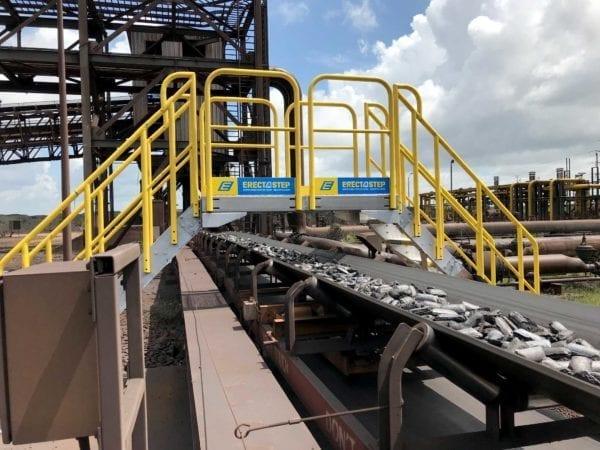 Metal Stair Conveyor Crossover