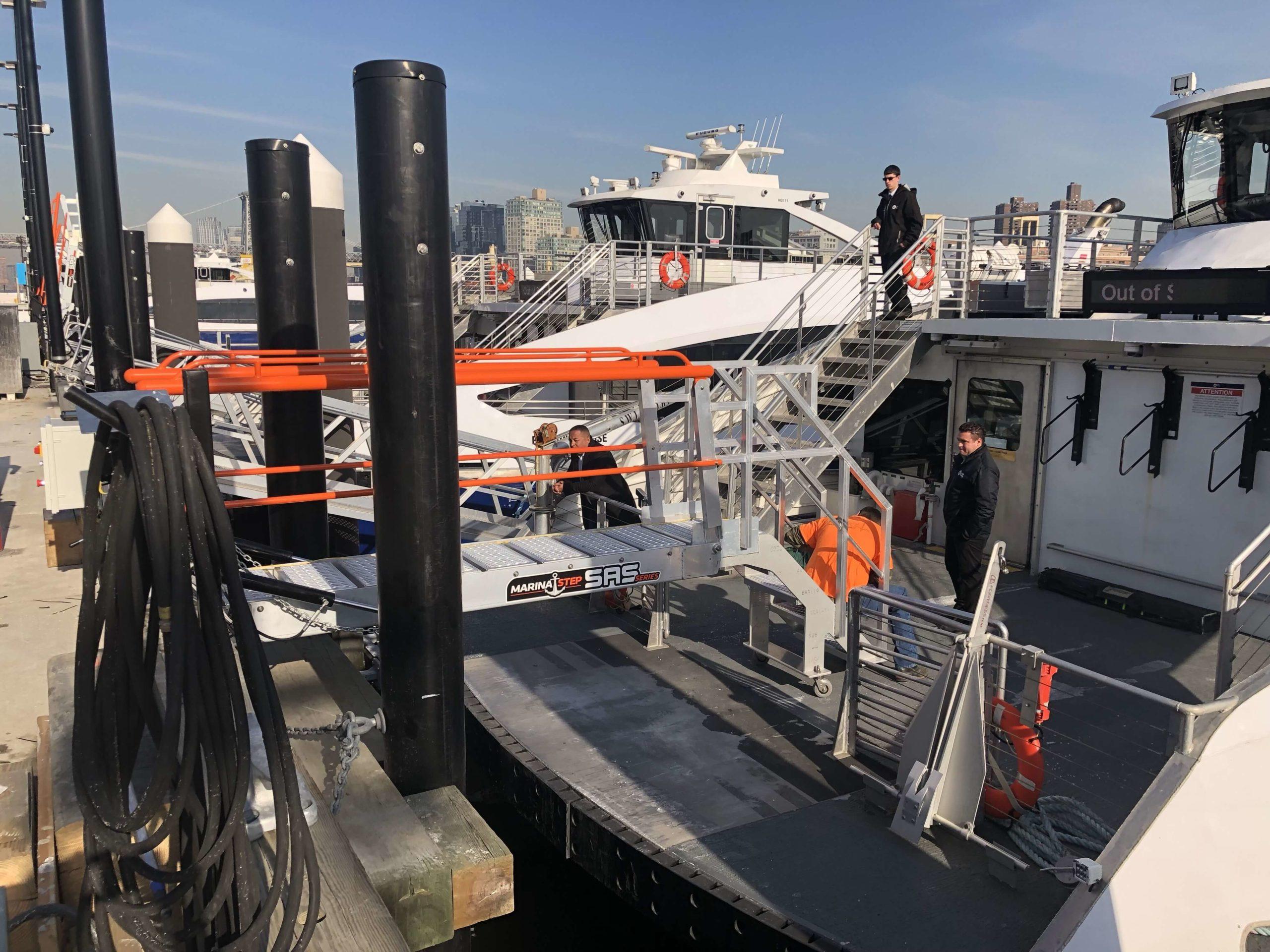 MarinaStep Ferry Gangway