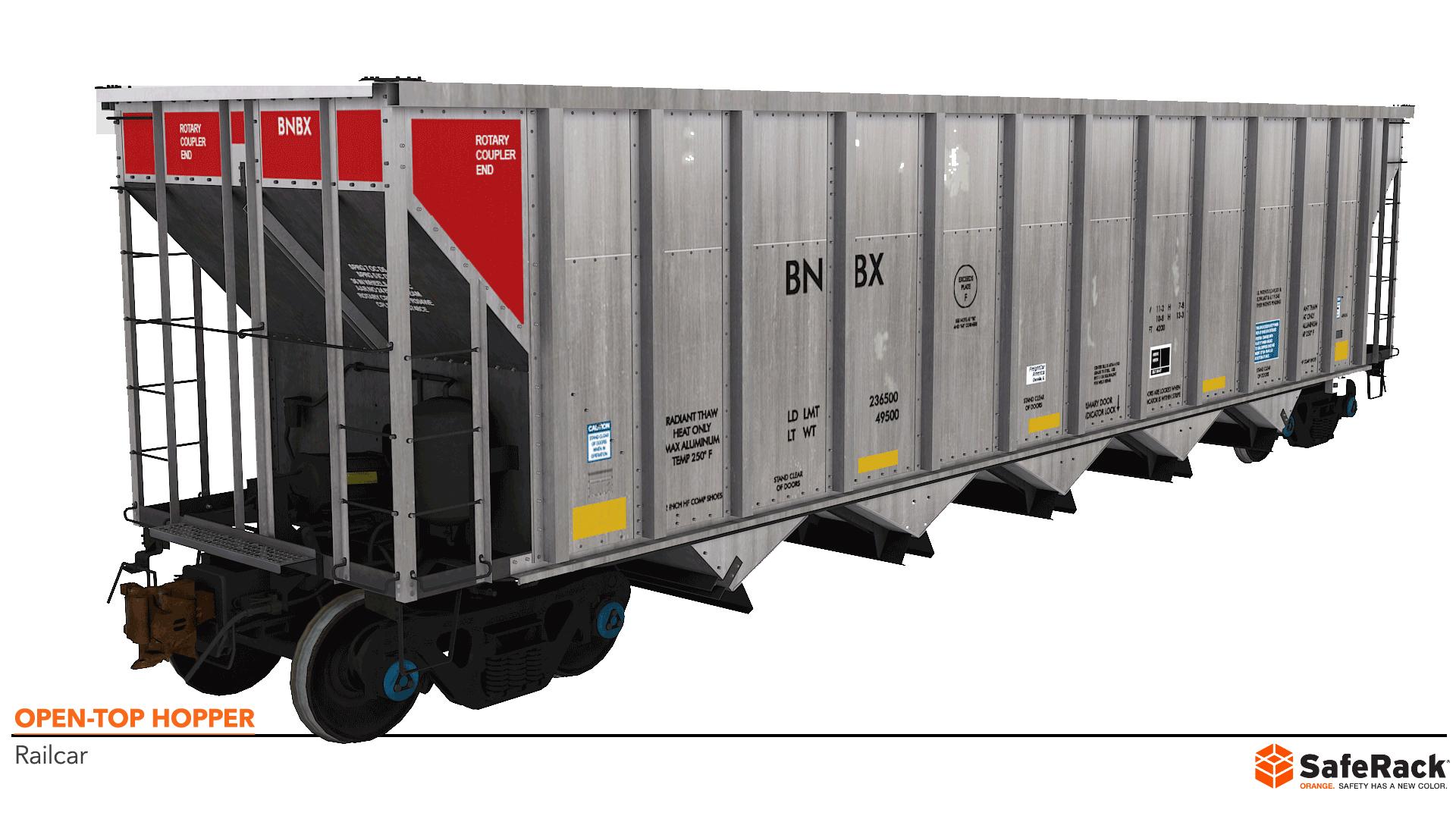 Open-Top Hopper Railcar
