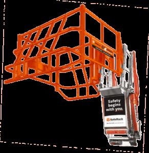 Orange Safety Cage