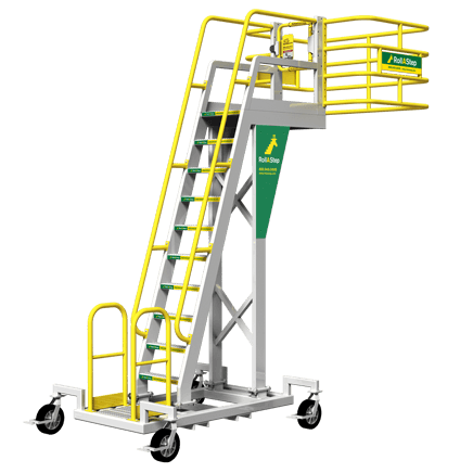 Cantilever Rolling Stairs